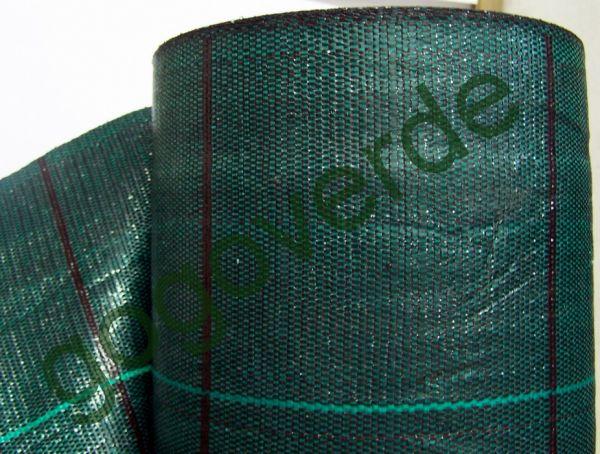 Telo per pacciamatura in polipropilene verde brillante - rotolo 100mt