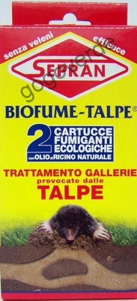 Fumogeno Repellente Anti Talpe BioFume - 2 Cartucce