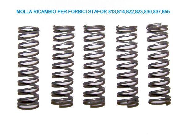 Molla di Ricambio per Forbici Stafor 813-814-837-855 - 5 pz