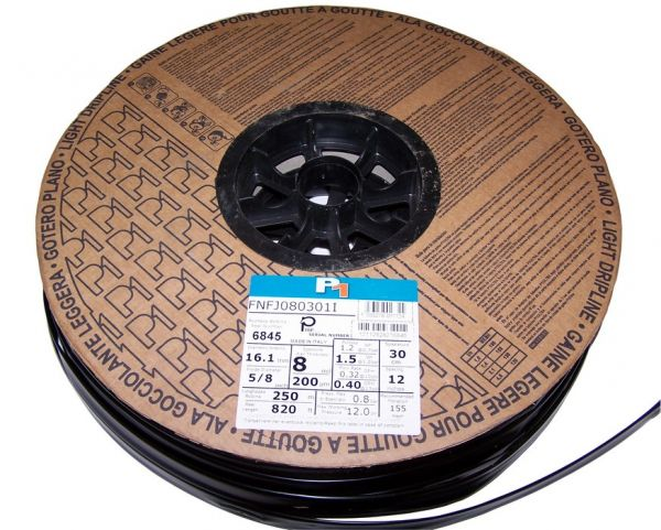 Ala gocciolante leggera Tape Ø 16 mm Rotolo 250m - spaziatura 20 cm
