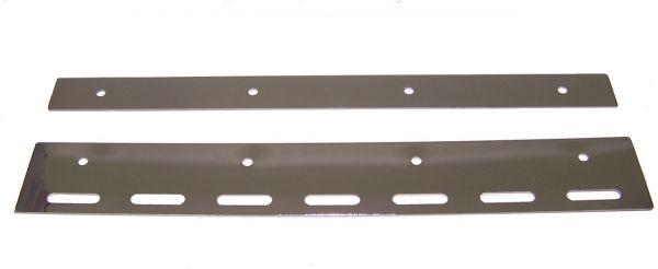 Staffe in Acciaio Inox per PVC Flessibile 30 cm