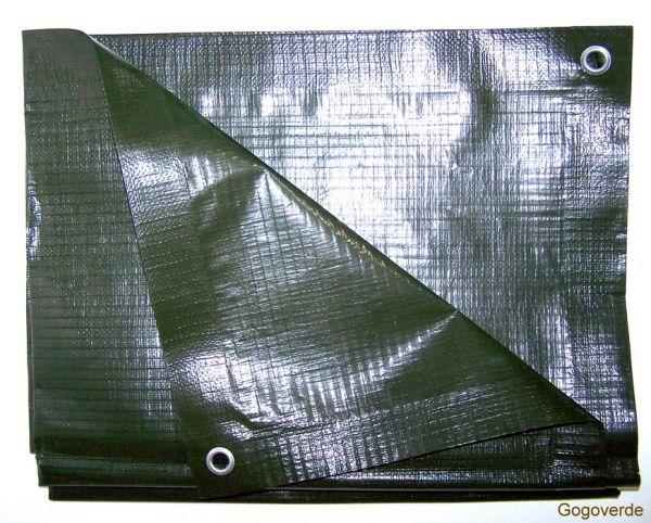 Telone occhiellato impermeabile Cover Up - LPDE Rinforzato 240gr/mq