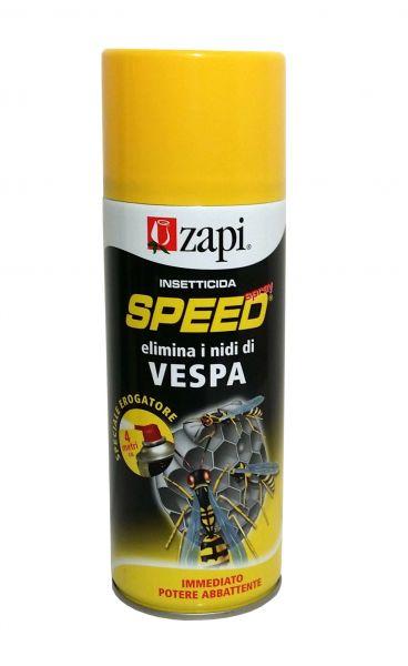 Zapi SPEED SPRAY VESPE 400ML INSETTICIDA NIDI VESPAIO DISTANZA 4 METRI