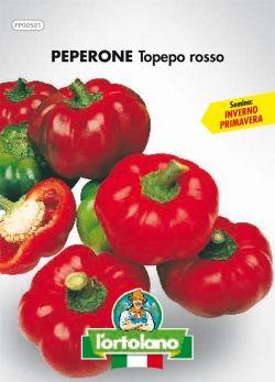 Semi di Peperone Rosso Topepo