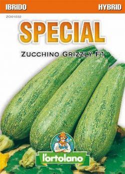 Sementi Ibride di Zucchino Grizzly F1
