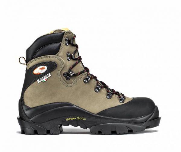 Scarpone trekking di sicurezza in pelle nabuk idrorepellente Suola ibex TreEmme Mod 91590