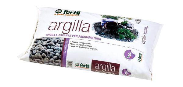 Argilla Espansa per Drenaggio e Pacciamatura Fertil 10 l