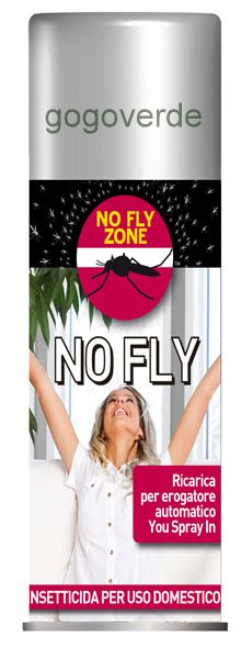 Ricarica No Fly da 250 ml per Erogatore insetticida You Spray In