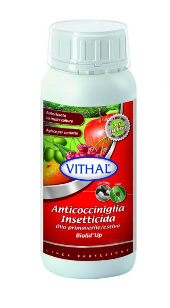 Olio paraffinico Estivo Anticocciniglia Biolid Up 500ml