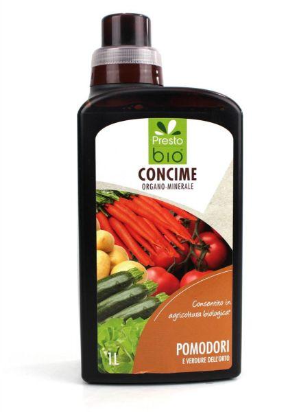 Concime Liquido Biologico per Pomodori e Ortive Presto Bio 1 lt