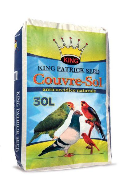 Lettiera Assorbente per Uccelli Anticoccidica - Couvresol 30 lt