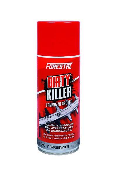 Solvente Spray per macchine da Giardino Forestal Dirty Killer 400 ml