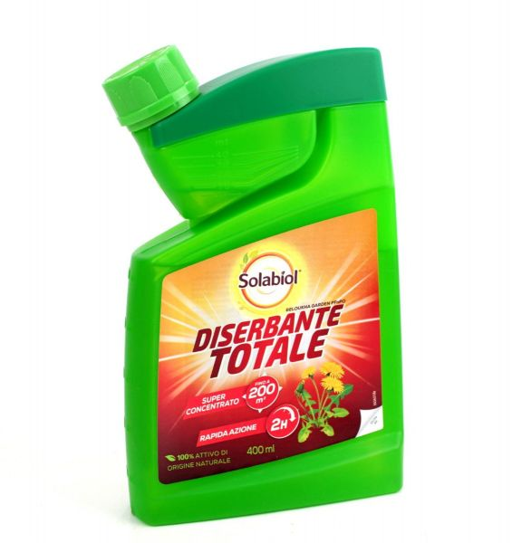 Diserbante Naturale a base di Acido Pelargonico Solabiol 400 ml