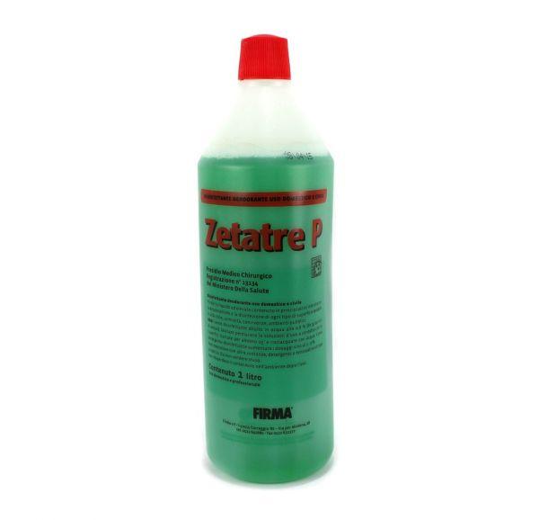 Detergente ai Sali Quaternari di Ammonio ZetaTre P 1 lt