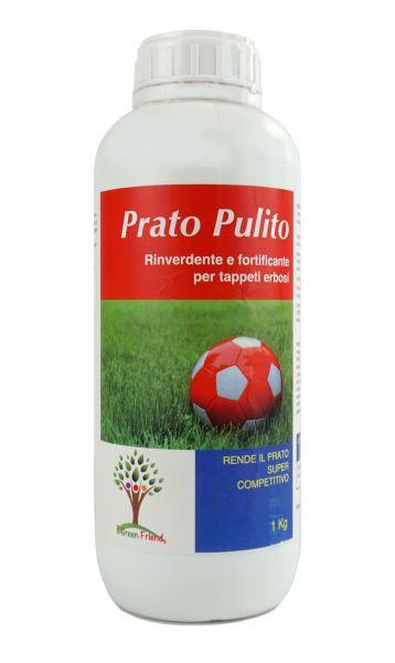 """Rinverdente fortificante per tappeti erbosi """"Prato Pulito"""" 1kg"""