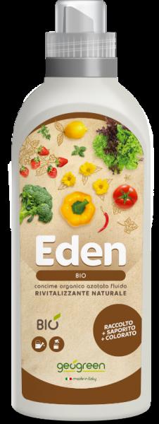 Concime liquido biologico per orto Eden 1lt