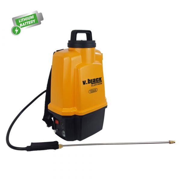 Pompa Spray a Batteria Volpi V.Black Elektron 12 l