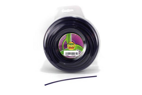 Filo per Decespugliatore Active Platino Quadrato Ø 2,7 mm 0,5 kg
