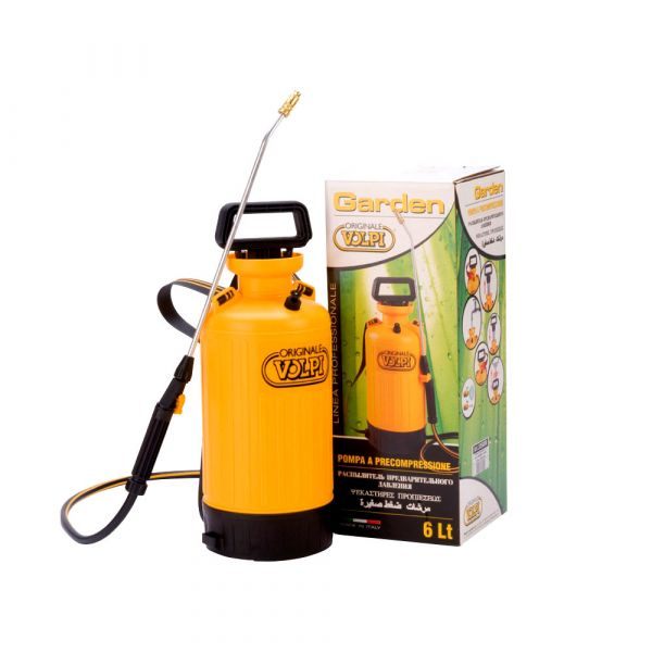 Pompa Spray a Precompressione Volpi Garden 3350B 6 l