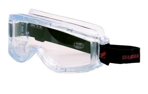 Occhiali protettivi montatura ad elastico Eagle Guardian - EN166