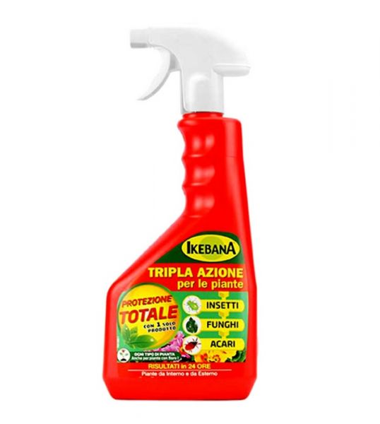 Spray Insetticida Fungicida pronto uso Ikebana 750ml