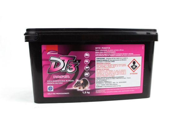 Topicida Biocida Formevet DT3 Pasta- 1,5kg