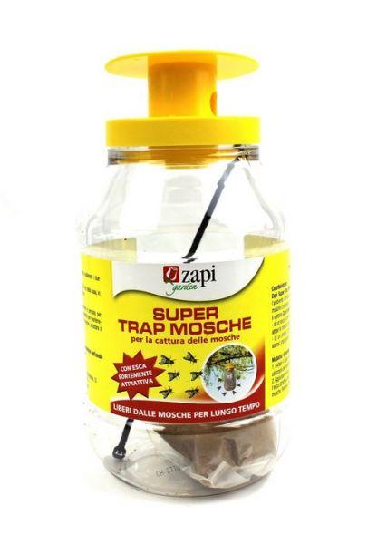 Trappola Zapi Super Trap Mosche - Pronta all'uso