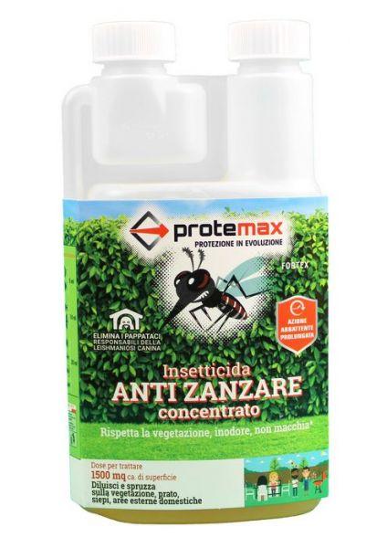 Insetticida concentrato Protemax Fortex 500ml - Mosche e zanzare