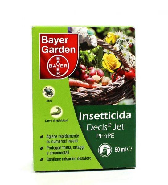 INSETTICIDA CONCENTRATO Bayer DECIS JET 50 ML PIRETROIDE DELTAMETRINA AFIDI