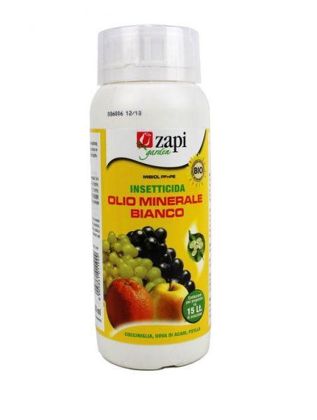 Insetticida biologico a base di Olio Minerale bianco - Zapi Mibiol 500ml