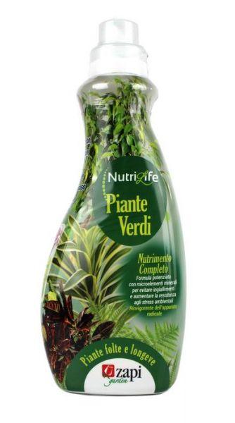 concime liquido nutrilife piante verdi