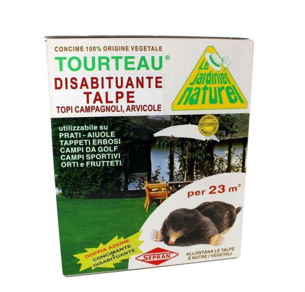 Repellente per talpe concime Tourteau