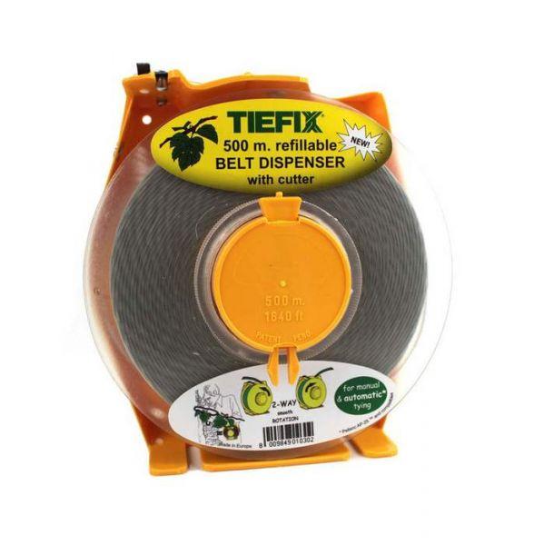Dispenser da Cintura per Filo Biodegradabile da Legatrice Tiefix - Bobina 500 mt