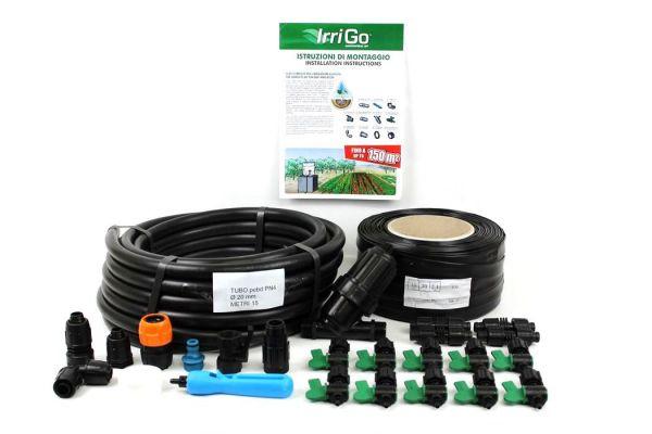 Kit per Irrigazione a goccia Irritec Irrigò - 150 metri quadri