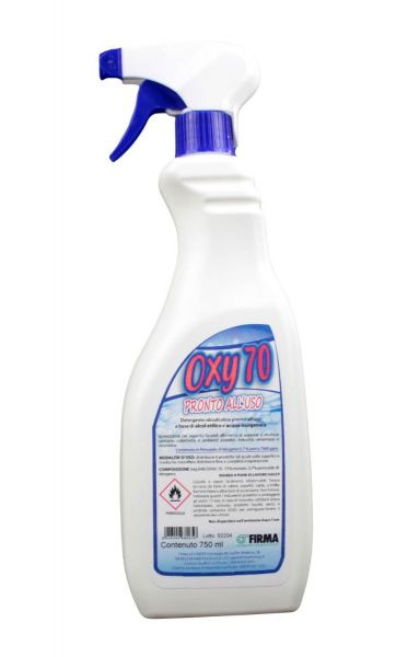 Detergente Spray Idroalcolico Oxy 70 750 ml