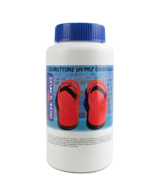 Correttore Granulare per Piscine pH + 1 kg