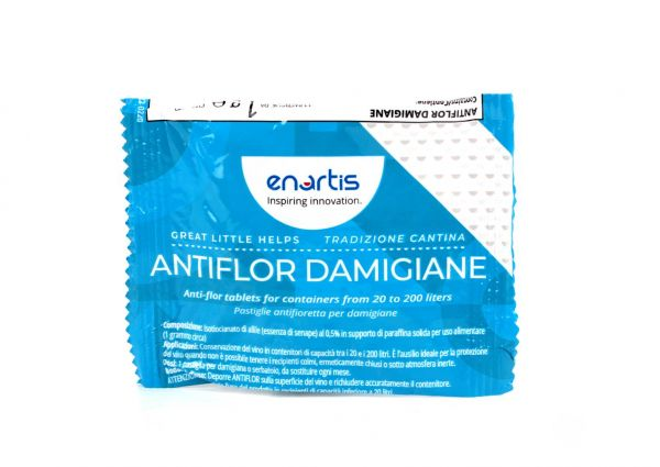 Pastiglie Antifioretta per Damigiane Enartis AntiFlor 1 g