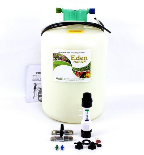 Dosatore per Fertirrigazione Eden Flow NR 100 Starter Kit - 2,8 lt - 500 mq