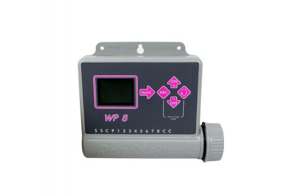 Programmatore Elettronico Rainbird WP8  con alimentazione a batteria 8 STAZIONI SENZA ELETTROVALVOLE