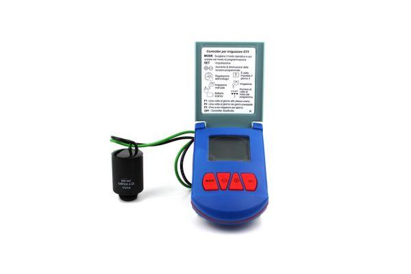 """Programmatore per Irrigazione Baccara Geva 75  con ElettroValvola 1""""1/2 F-F"""