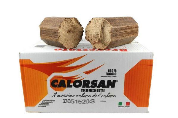 Tronchetti per Riscaldamento Calorsan 14 kg - 100% Faggio