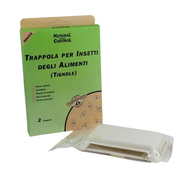 TRAPPOLA  A FEROMONI PER FARFALLINA DELLE CUCINE - TIGNOLETTA CF. DA 2 TRAPPOLE
