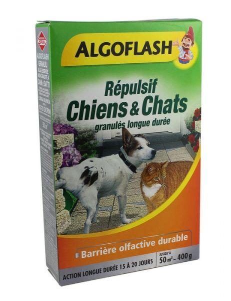 Repellente Granulare per Cani e Gatti Algoflash 400 grammi