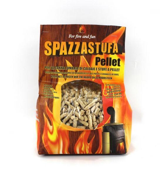 Pellet SpazzaStufa per Pulizia Canna Fumaria 1,5 kg