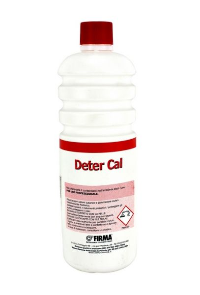 Detergente Disincrostante liquido DeterCal 1 lt