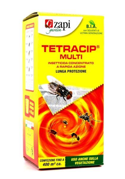 Insetticida concentrato Zapi Tetracip Multi Mosche e Zanzare 250 ml