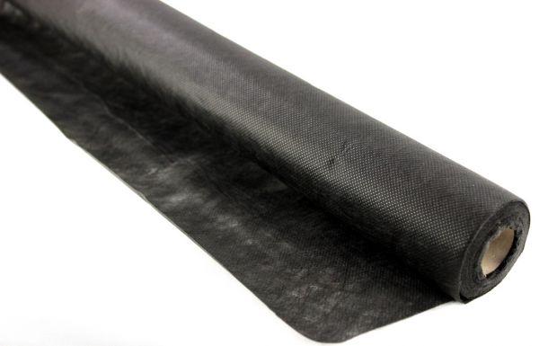 Tessuto non tessuto nero in poliestere per pacciamatura trattato UV 50gr/mq con taglio a scelta