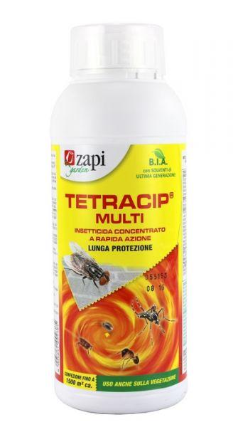 Insetticida concentrato Zapi Tetracip Multi Mosche e Zanzare 1 l
