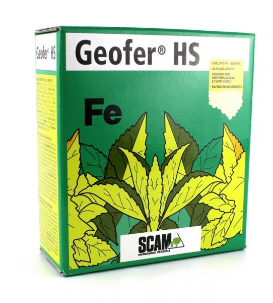 Rinverdente radicale idrosolubile Chelato di ferro Geofer HS 1kg