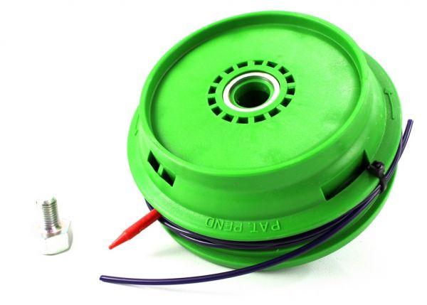 Testina Active Batti e vai - pomolo acciaio - mod.120 con inserto adattatore per Decespugliatore